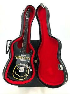 Miniature Fender Stratocaster Guitar - Nirvana - (Includes Hard Case)
