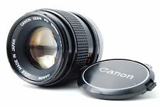 Canon FD 100mm F2.8 S.S.C. Lens  SN46560