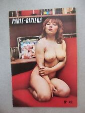 Glamour pin up magazine french 1950 1960 il Paris-RIVIERA No. 42
