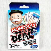 GENUINE HASBRO MONOPOLY DEAL CARD GAME PARTY GAME ( HONG KONG CHINESE VERSION)