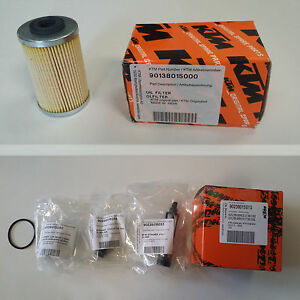 KTM  90238015010 KIT FILTRO OLIO OIL FILTER DUKE 250 390 RC 250 390  ORIGINALE