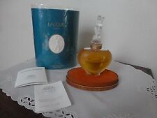 Rare Lalique Crystal Perfume Heart Bottle Amour 2oz 60mL NIB Signed Numbered