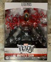 "Marvel Legends Toxin Venom Deluxe 6"" Figure 2020 Spider-Man New NIB In Hand 🔥"