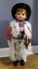 """Rare Limited Edition 12/100 Virginia Ehrlich Turner 28"""" Cowboy Doll """"Dallas"""""""