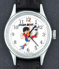 Vintage wind-up Sport Billy Football Soccer Character Watch