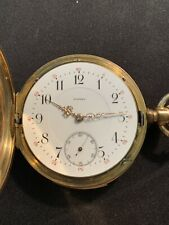 Rare Mathey Minute Repeating Pocket Watch Adjusted