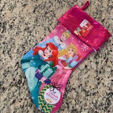 Disney Princess Christmas Stocking New