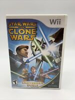 Star Wars: The Clone Wars Lightsaber Duels (Nintendo Wii, 2008) with Manual