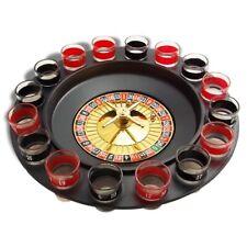 Roulette à boire pour jeu et boisson avec 16 verres shooter