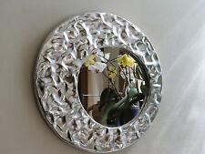 Specchio CIRCOLARE con cornice in ALLUMINIO lavorato a mano DESIGN MODERNO