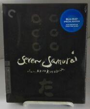 Seven Samurai (Blu-ray Disc, 2010, 2-Disc Set, Criterion Collection) in Slipbox