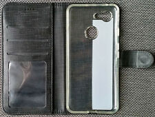 Goole Pixel 3 Phone Case. Magnetic Closure. Stand Function. Pockets. Dark Grey