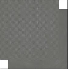 BoBunny 12x12 papel scrapbooking Doble Dot Collection, carbón Dot X 2 Hojas