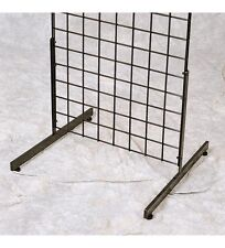 T-Shape Gridwall Panel Legs Display Set Of 2 - Black