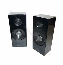 Samsung Blu-Ray 3D DVD Home Cinema HiFi Surround Pair of 2 Black Speakers 400W b
