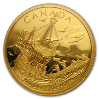 2019 Canada 1/2 oz Gold $200 Arrival of the Europeans - SKU#185260