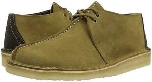 Clarks Originals Desert Trek Men's Center Stitch Suede Shoes 26131183 Olive