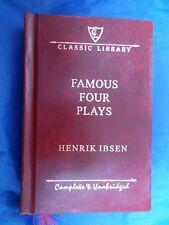 Famous Four Plays Henrik Ibsen hardback
