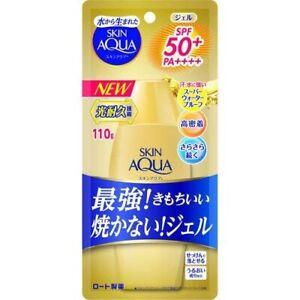 Rohto Skin Aqua Super Moisture Gold Sunscreen SPF50+ / PA++++ 110g FREE SHIPPING
