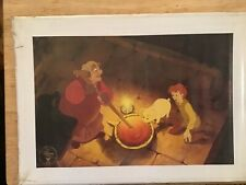 walt disney the sword in the stone commemorative 1998 lithograph sealed card