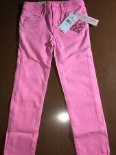Celebrity Pink Little Girls Pants, Color Light Pink Neon, Size 5, Msrp $38.00