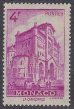 MONACO - 1946 4f Bright purple - UM / MNH