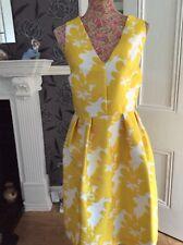 Next Fabulous Wedding Cruise Holiday Yellow Ivory Brocade 16 18 Hol 11/9