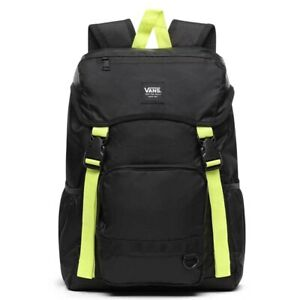 Vans Ranger Backpack - Black/Lemon Tonic