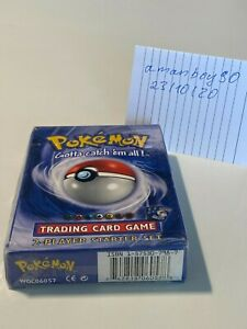 *RARE* 1999 Pokémon TCG - 2 Player Starter Set Factory Sealed - Mint Condition