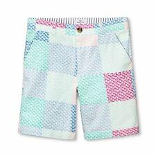 Vineyard Vines Target Boys Patchwork Shorts Summer Whale Size Medium 8/10 New