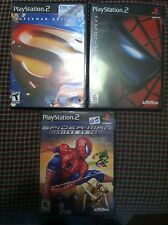 3 Playstation 2 games CHILDREN KID Superman Returns Spider Man Friend or Foe PS2