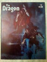 Vintage Dragon Magazine #36 The Dragon Dungeons and Dragons April 1980