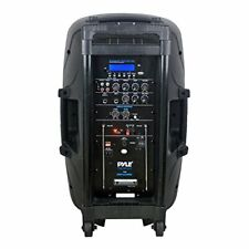 Portable Bluetooth PA Speaker System, MP3/USB/SD Readers, 12'' Speaker