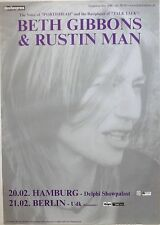BETH GIBBONS & RUSTIN MAN 2002 GERMAN CONCERT TOUR POSTER - Portishea, Talk Talk