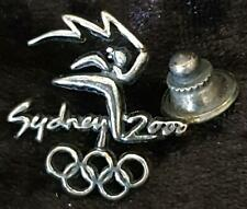 RARE 925 STERLING SILVER SYDNEY 2000 TORCH RELAY PIN  - BOXED SYDNEY OLYMPIC PIN
