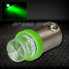8MM ROUND LED T10 BA9S T4W 1895 GREEN AUTO INTERIOR DOME LIGHT BULB/LAMP/BULBS