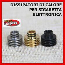 DISSIPATORE Drip Tip per sigaretta elettronica ricambi e-ciga e-siga 510