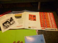 Dépliant Prospekt Brochure DYNAPAC Rouleaux Finisseur Finisher Compactor ans90