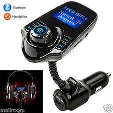T10 LCD Bluetooth Car Kit Auto FM Transmitter MP3 Player FM Transmitter USB A DE