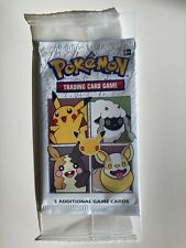 Pokemon 25th Anniversary General Mills promo booster pack sealed mint condition