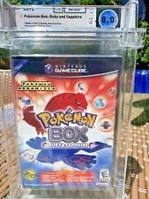RARE 2004 Gamecube Pokemon Box Ruby and Sapphire Graded CIB WATA 8.0 🔥 MUSE SEE