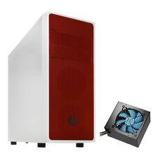 BitFenix NEOS BIANCO/ROSSO ATX mATXUSB Mini itx Gaming PC Computer Case & 850W PSU