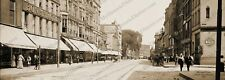 "Lowell, Massachusetts 1908 Panoramic Sepia Photo 5"" x 14"" FREE SHIPPING!"