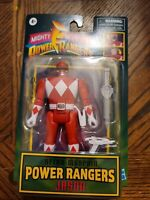 🔥 Hasbro Mighty Morphin POWER RANGERS RED JASON Retro-Morphin Figure 🔥