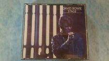 DAVID BOWIE -Stage (Early 1991 RYKO CD + 1 Bonus Track) RARE