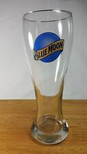 "Blue Moon Beer Pilsner Glass 8 "" Tall"