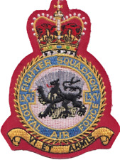 No. LXV (65) Squadron Royal Air Force RAF Crest MOD Embroidered Patch