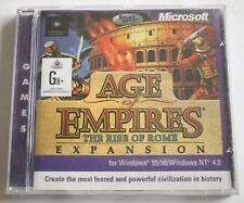 Age Of Empires The Rise Of Rome Expansion Windows 95/98/Windows NT 4.0 PC Game