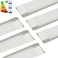 6x 4FT 1200mm 65W Bright Slim LED Batten Tube Light Linear Panel Downlight White