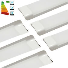 6x 4FT 1200mm 65W Bright Slim LED Batten Tube Light Linear Panel Downlight White